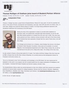 Independent Press: Thomas Mulligan
